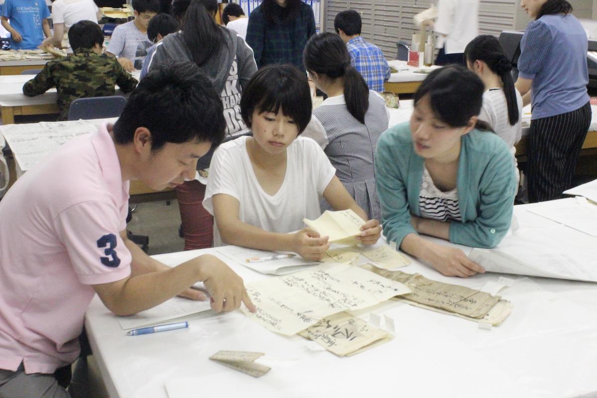 博物館実習_古文書の整理