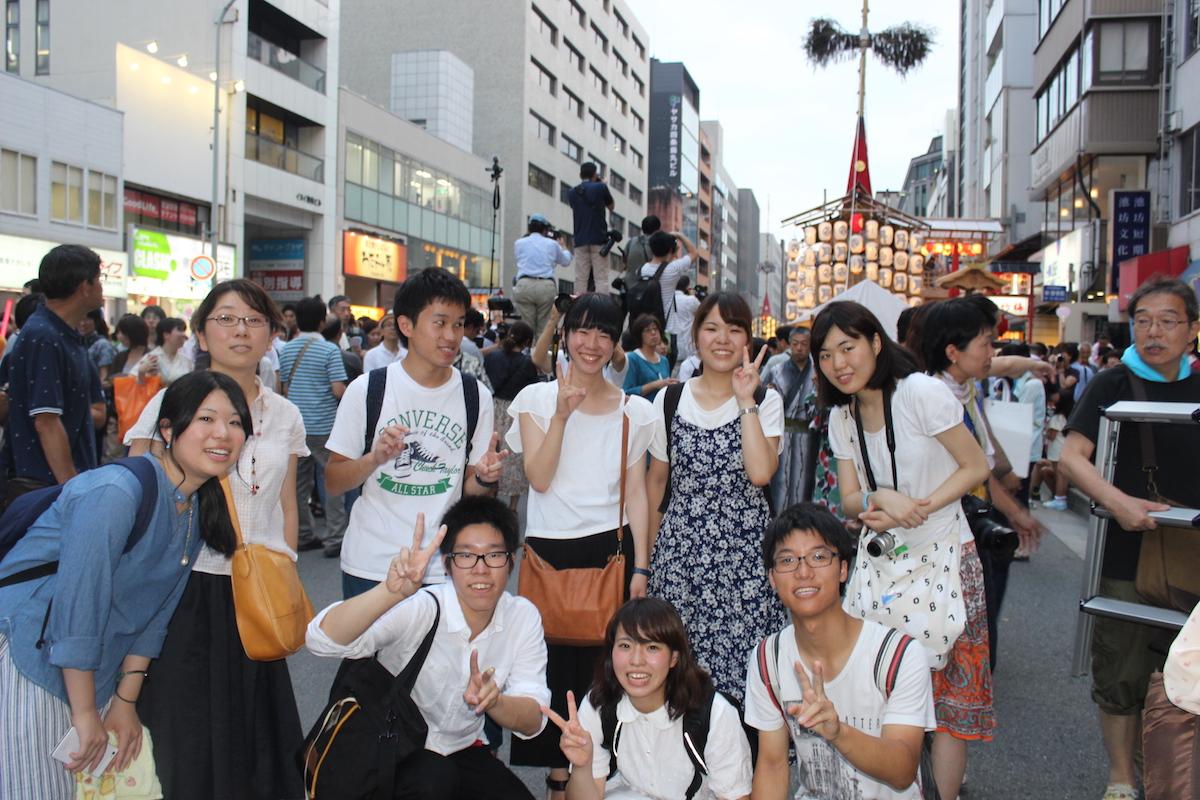 祇園祭宵山集合写真