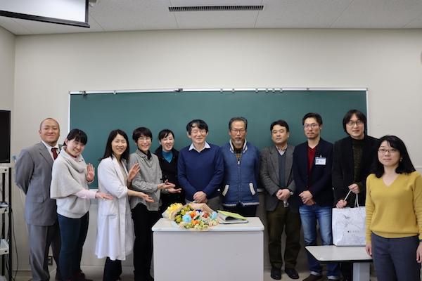 水野教授最終講義記念