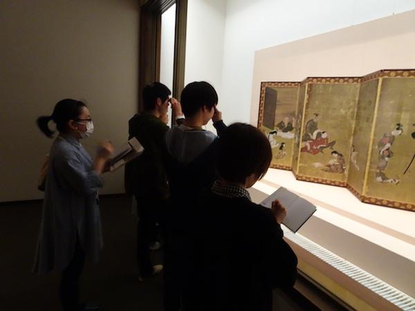 彦根城博物館見学